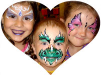 AmaDazzle Face Painting Galleries