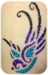 Glitter Tattoos in Amarillo